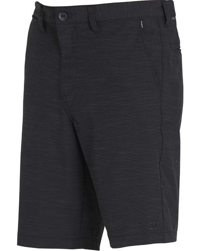 11 Crossfire X Slub Submersible Shorts Black M203NBCS Billabong