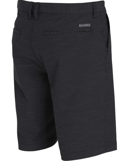 12 Crossfire X Slub Submersible Shorts Black M203NBCS Billabong