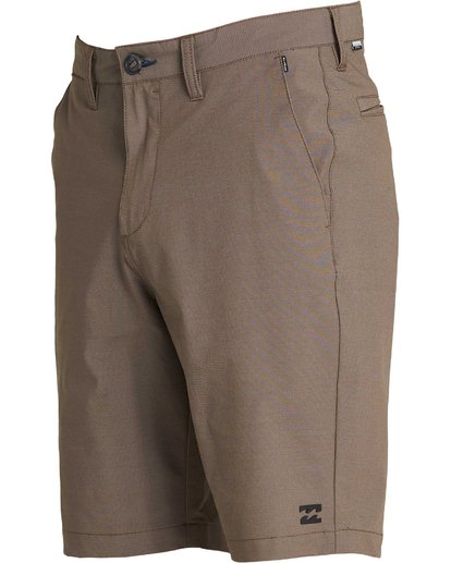 1 Crossfire X Twill Submersibles Shorts Brown M204NBCT Billabong