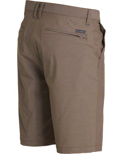 2 Crossfire X Twill Submersibles Shorts Brown M204NBCT Billabong