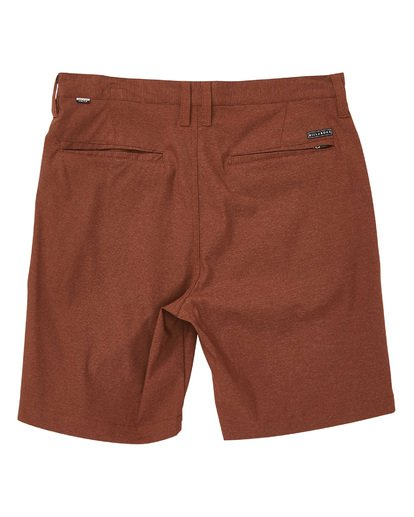 1 Crossfire X Micro Shorts Brown M205TBCM Billabong