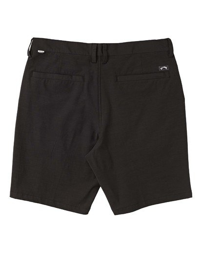 "5 New Order Slub Submersible Short 19"" Black M2071BNS Billabong"