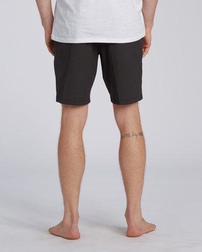 "7 New Order Slub Submersible Short 19"" Black M2071BNS Billabong"