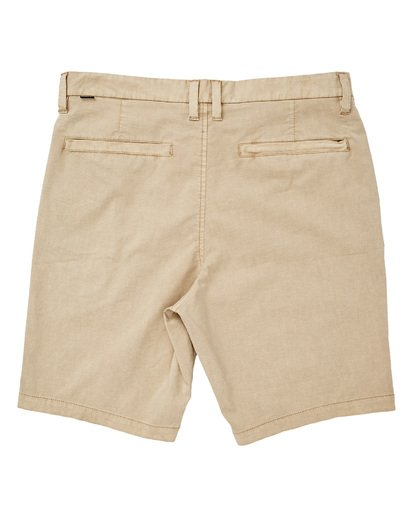 1 New Order X Overdye Shorts Beige M207TBNO Billabong