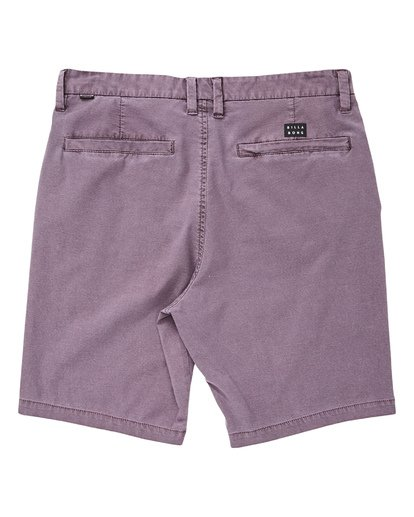 1 New Order X Overdye Shorts Purple M207TBNO Billabong