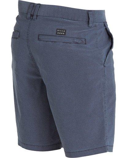 3 New Order X Overdye Shorts Blue M207TBNO Billabong
