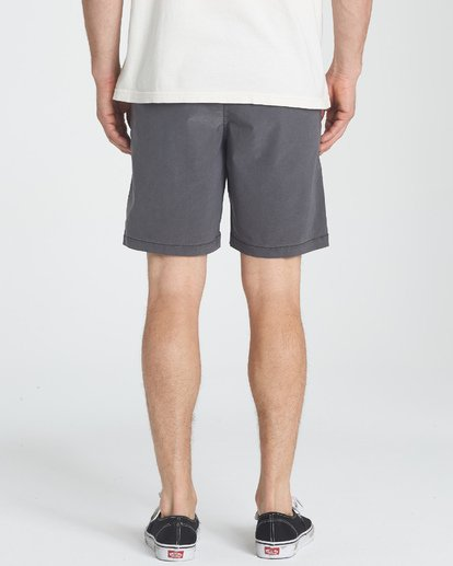 7 New Order X Overdye Shorts Black M207TBNO Billabong
