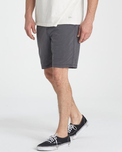 5 New Order X Overdye Shorts Black M207TBNO Billabong