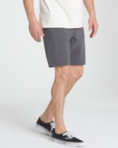 6 New Order X Overdye Shorts Black M207TBNO Billabong