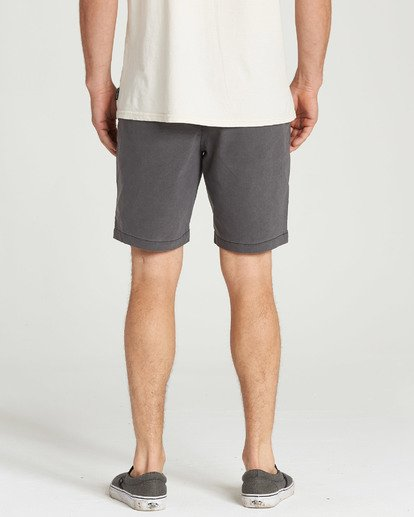 9 New Order X Overdye Shorts Black M207TBNO Billabong