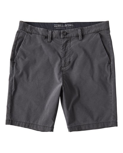 0 New Order X Overdye Shorts Black M207VBNO Billabong