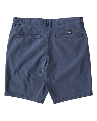 4 New Order X Overdye Shorts Blue M207VBNO Billabong