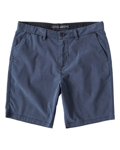 3 New Order X Overdye Shorts Blue M207VBNO Billabong