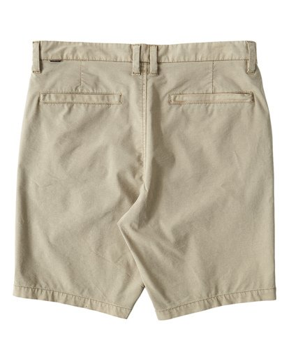 1 New Order X Overdye Shorts Beige M207VBNO Billabong