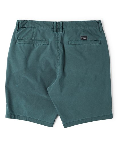 4 New Order X Overdye Shorts Green M207VBNO Billabong