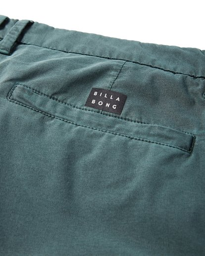 7 New Order X Overdye Shorts Green M207VBNO Billabong