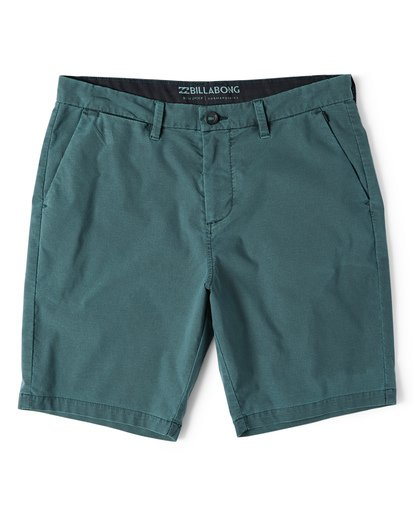 3 New Order X Overdye Shorts Green M207VBNO Billabong