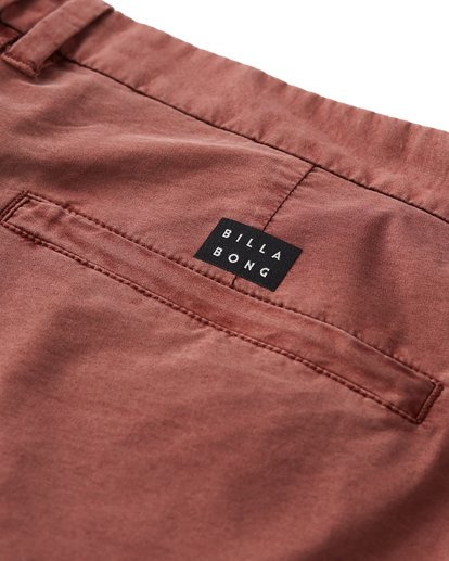 6 New Order X Overdye Shorts Red M207VBNO Billabong
