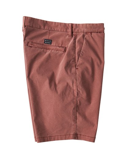 3 New Order X Overdye Shorts Red M207VBNO Billabong