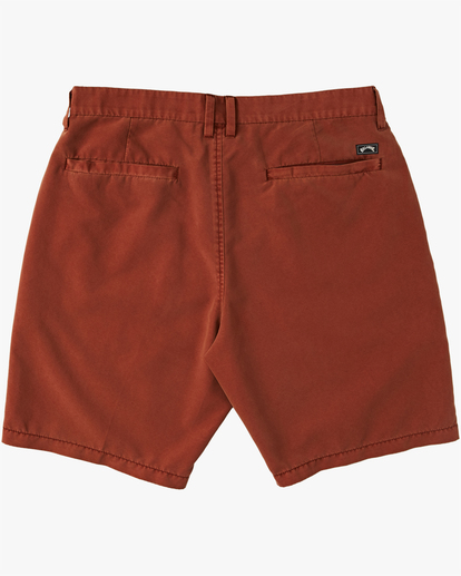 "7 New Order Overdye Submersible Walkshort 19"" Red M2081BNO Billabong"