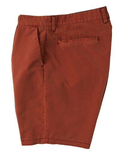"8 New Order Overdye Submersible Walkshort 19"" Red M2081BNO Billabong"