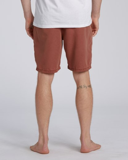 "3 New Order Overdye Submersible Walkshort 19"" Red M2081BNO Billabong"
