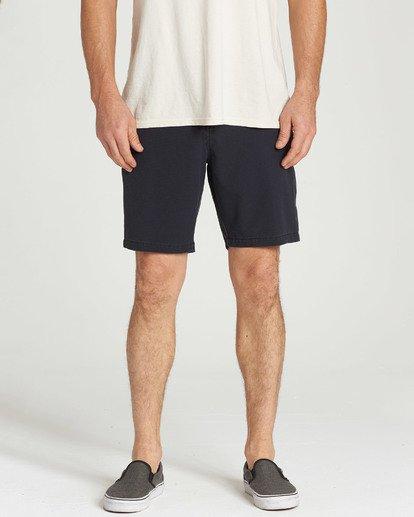 7 New Order X Ripstop Shorts Black M208TBNR Billabong