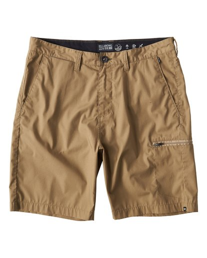 3 Surftrek Cargo Shorts Beige M211VBSC Billabong