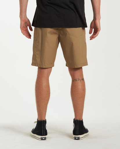 2 Surftrek Cargo Shorts Brown M211VBSC Billabong