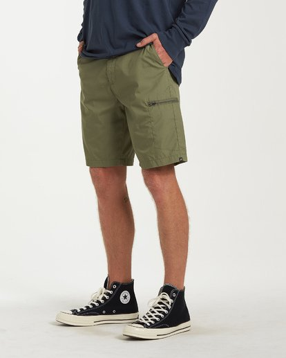 1 Surftrek Cargo Shorts Brown M211VBSC Billabong