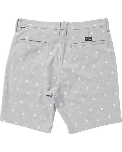 1 New Order X Sundays Submersibles Shorts Grey M213NBNS Billabong