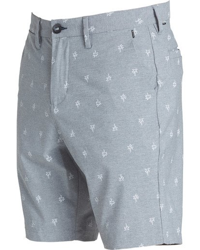 2 New Order X Sundays Submersibles Shorts Grey M213NBNS Billabong