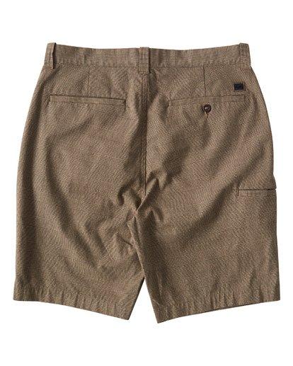 1 Carter Yarndye Shorts Grey M215VBCY Billabong