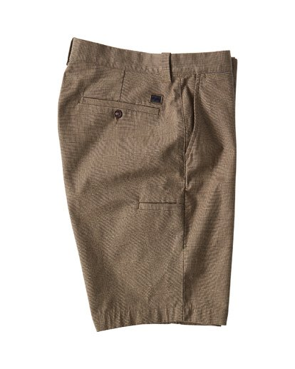 3 Carter Yarndye Shorts Grey M215VBCY Billabong