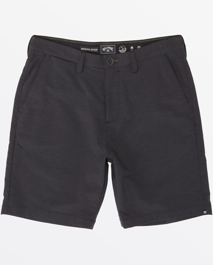 "3 A/Div Surftrek Wick Short 20"" Black M2161BSW Billabong"