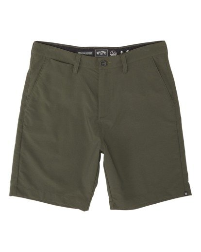 3 Surftrek Wick Performance Walkshort Brown M2161BSW Billabong