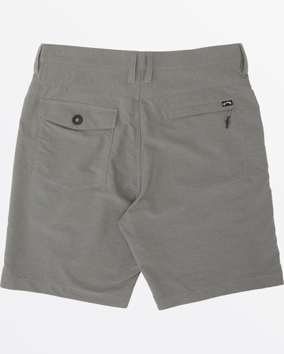 "4 A/Div Surftrek Wick Walkshort 20"" Grey M2161BSW Billabong"
