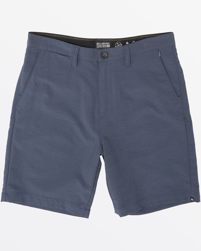 "3 Surftrek Wick Walkshort 20"" Blue M2161BSW Billabong"