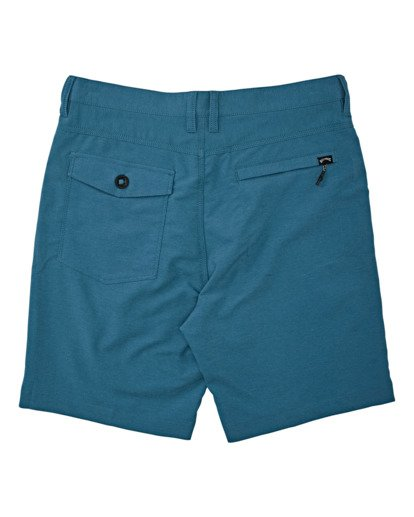 "1 A/Div Surftrek Wick Short 20"" Blue M2161BSW Billabong"