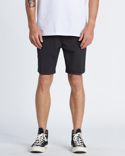 "0 Surftrek Wick Walkshort 20"" Black M2161BSW Billabong"