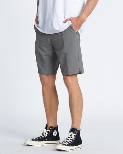 1 Surftrek Wick Walkshorts Grey M2161BSW Billabong
