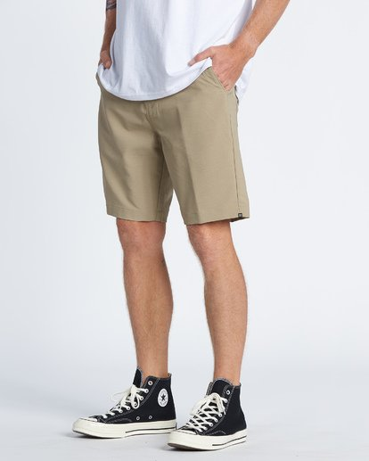 1 Surftrek Wick Performance Walkshort Beige M2161BSW Billabong