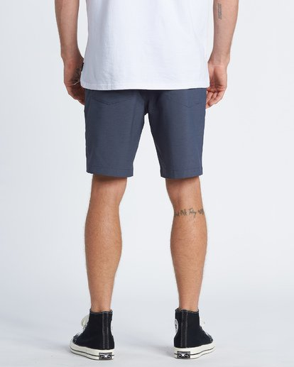 "2 Surftrek Wick Walkshort 20"" Blue M2161BSW Billabong"