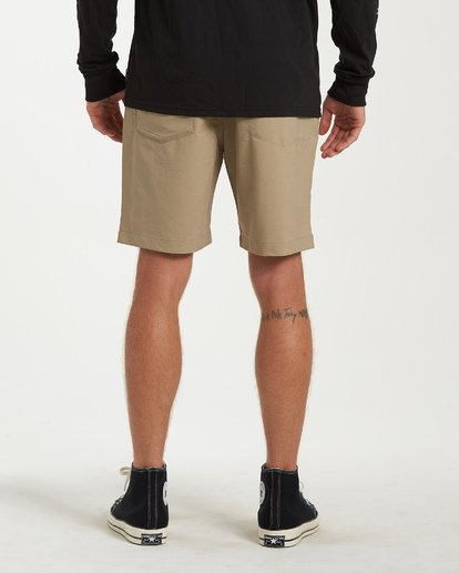 2 Surftrek Wick Shorts Beige M216NBSW Billabong
