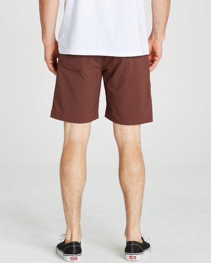 2 Surftrek Wick Brown M216NBSW Billabong