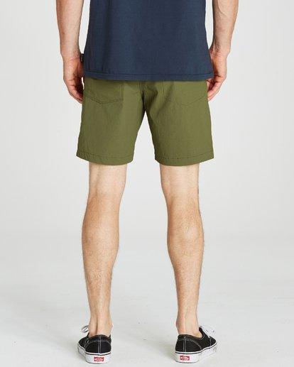 5 Surftrek Ripstop Shorts Green M219QBSR Billabong