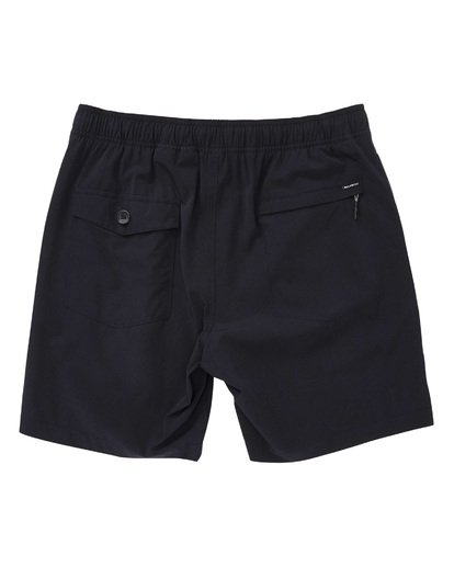 1 Surftrek Perf Elastic Shorts Black M219TBSP Billabong