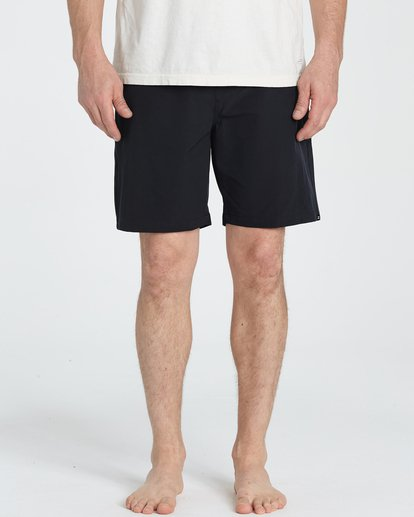 2 Surftrek Perf Elastic Shorts Black M219TBSP Billabong