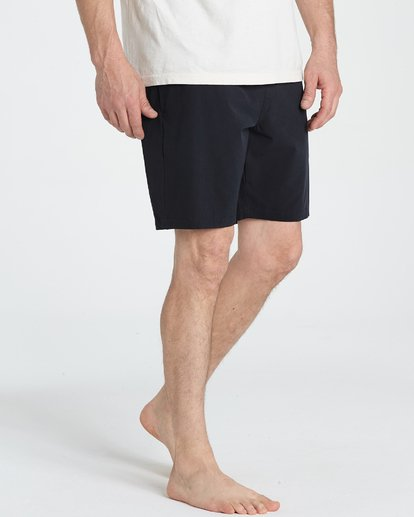 4 Surftrek Perf Elastic Shorts Black M219TBSP Billabong