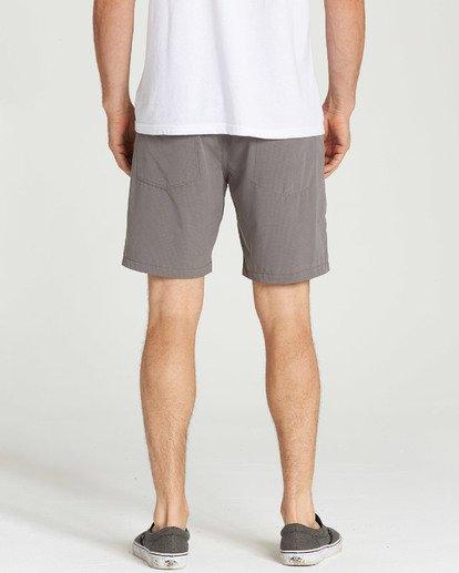 9 Surftrek Perf Elastic Shorts Grey M219TBSP Billabong